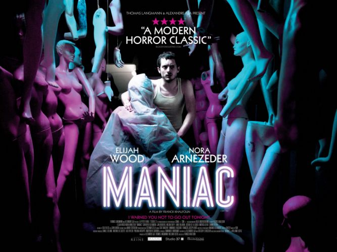 MANIAC horror dark thriller psychological evil killer 1maniac poster wallpaper