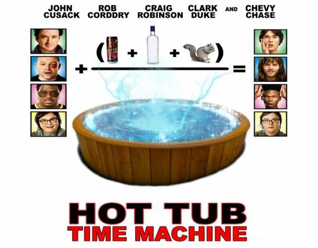 HOT TUB TIME MACHINE comedy adventure sci-fi science futuristic 1httmachine wallpaper