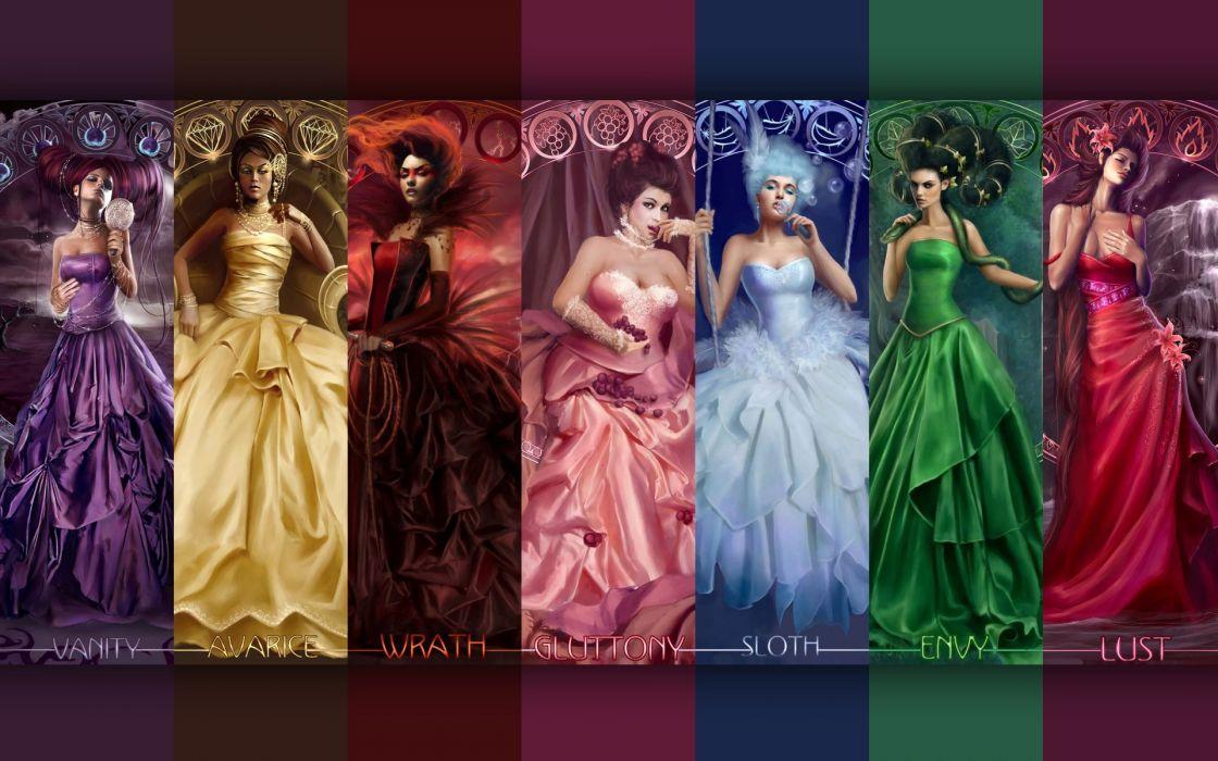 The Seven Deadly Sins wallpaper