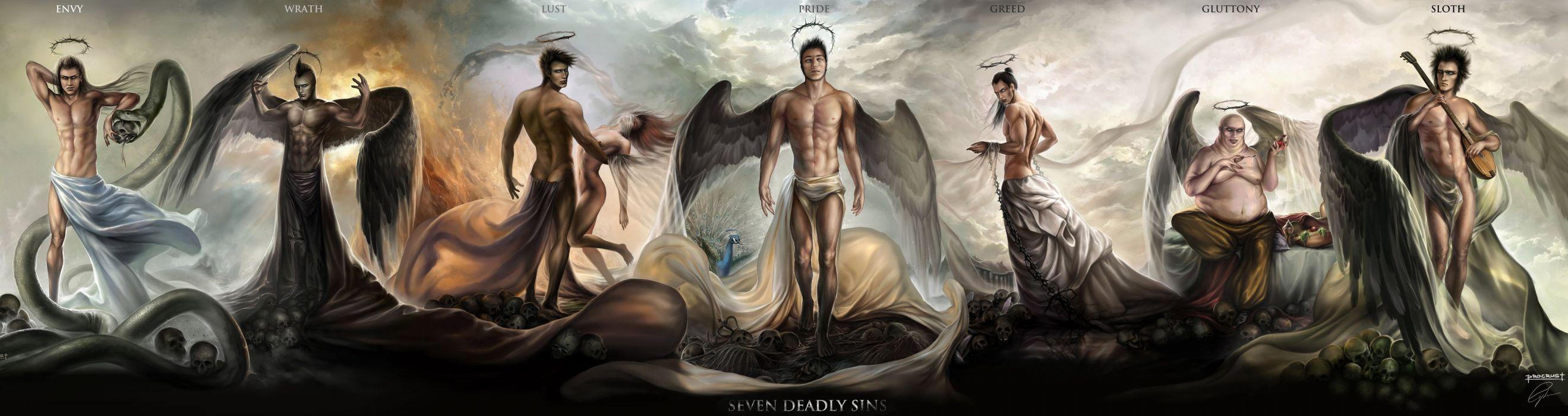 The Seven Deadly Sins Wallpaper 3770x1000 602866 Wallpaperup