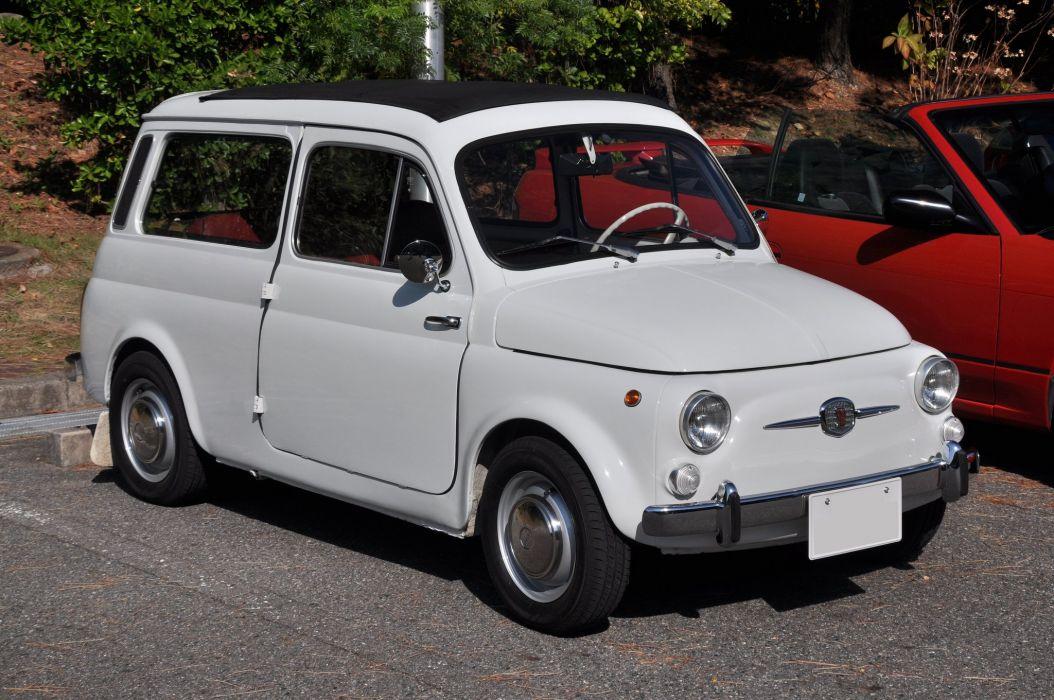 Fiat Cinquecento 500 cars classic italia italie Giardiniera wagon wallpaper