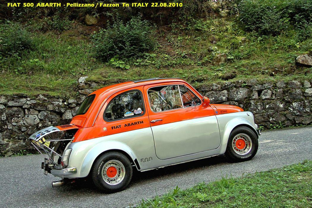 Fiat Cinquecento 500 595 abarth mk1 cars classic italia italie wallpaper