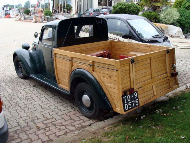fiat 1100 classic cars pickup italie italia wallpaper
