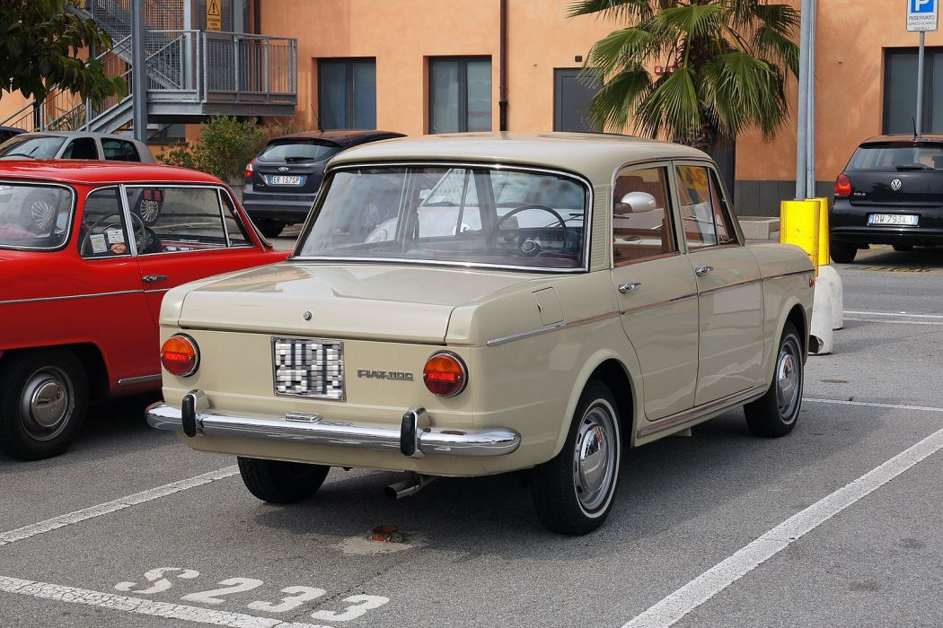 fiat 1100 classic sedan cars italie italia wallpaper
