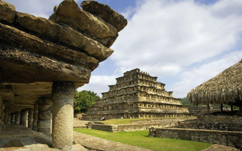 aztecas-ruinas-mexico-piramides wallpaper