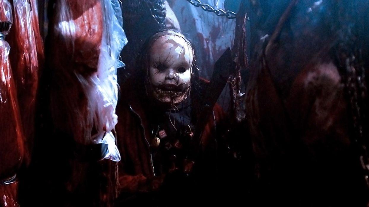 HILLS RUN RED horror thriller dark evil killer 1hillsred mask wallpaper