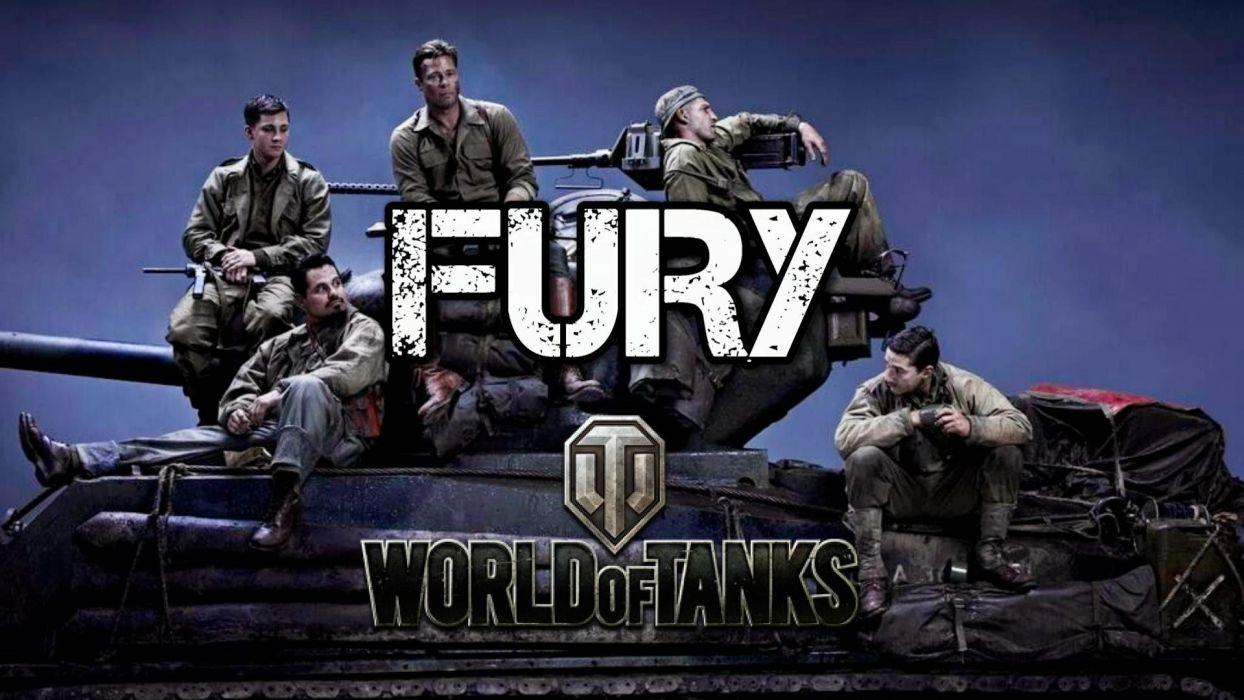 FURY action drama war brad pitt military tank war 1fury fighting wallpaper