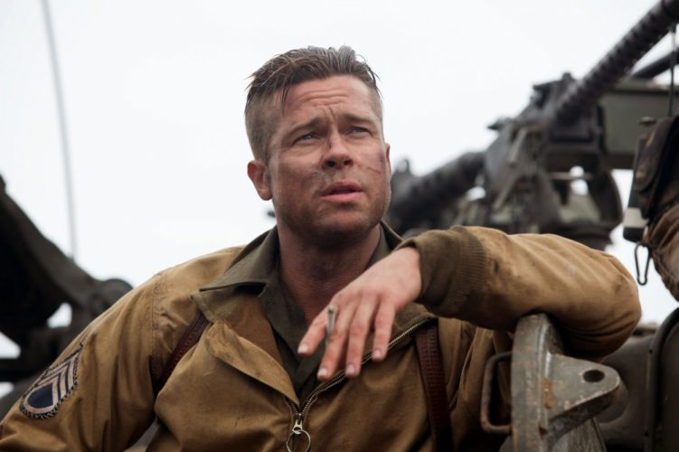 FURY action drama war brad pitt military tank war 1fury fighting wallpaper