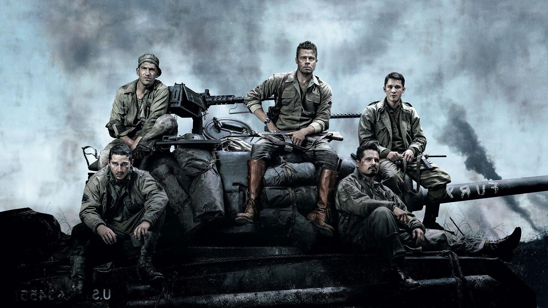 FURY action drama war brad pitt military tank war 1fury fighting ...