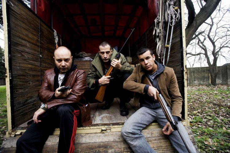 NEON FLESH comedy thriller crime thriller 1neonflesh violence dark weapon gun pistol wallpaper
