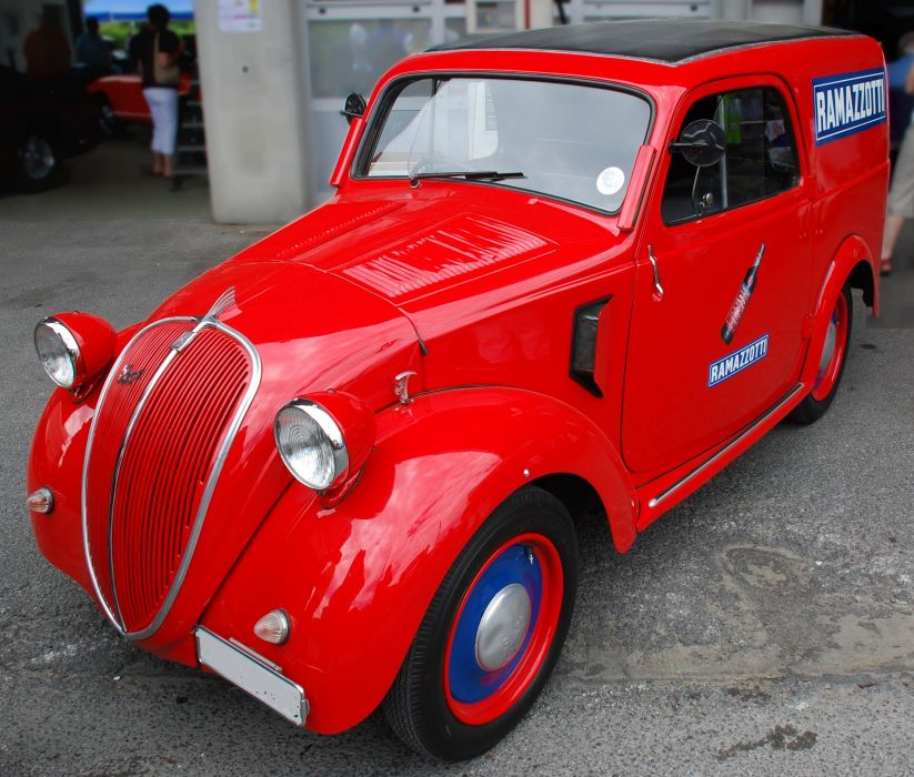 Fiat Topolino classic cars mk1 van delivery italia italie wallpaper