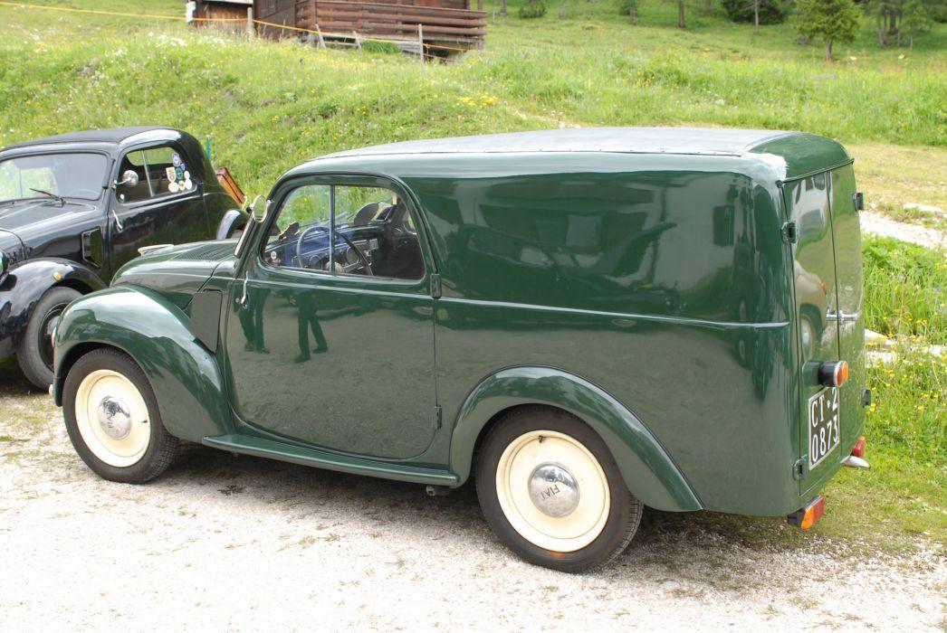 Fiat Topolino classic cars mk2 van delivery italia italie wallpaper