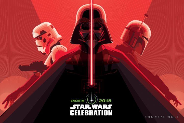 STAR WARS FORCE AWAKENS action adventure futuristic science sci-fi 1star-wars-force-awakens darth vader poster wallpaper
