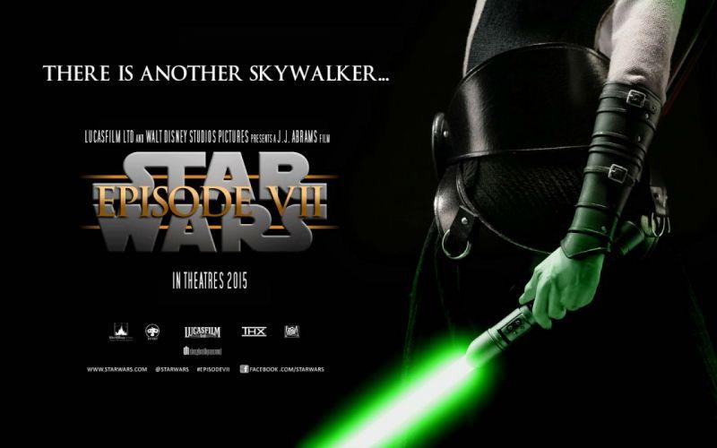 STAR WARS FORCE AWAKENS action adventure futuristic science sci-fi 1star-wars-force-awakens poster jedi wallpaper