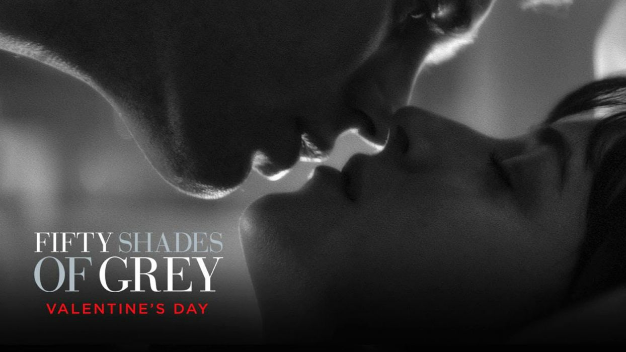 FIFTY SHADES OF GREY romance drama book love romantic fiftyshadesgrey mood poster kiss wallpaper