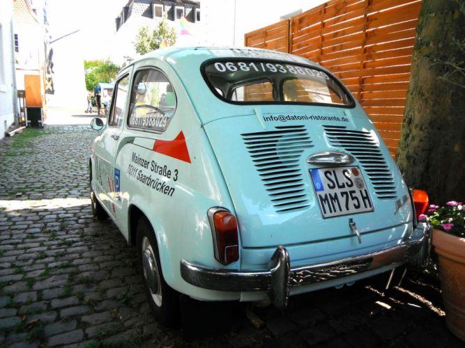 cars classic Fiat 600 Italia italie wallpaper