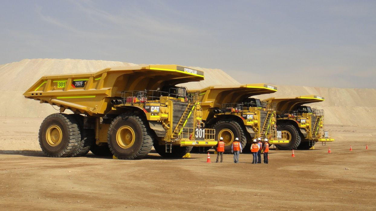 camiones-mina-vehiculos wallpaper