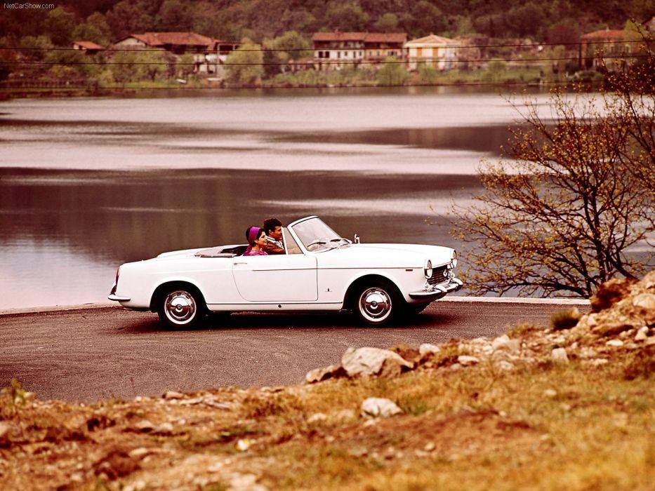 1500 cars classic Fiat Italia italie convertible spider cabriolet wallpaper