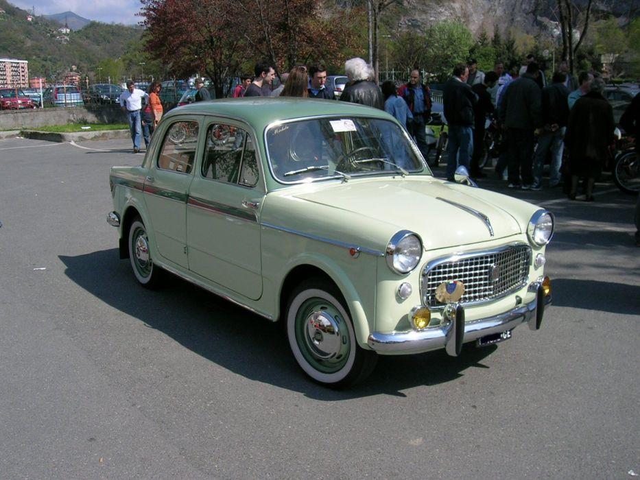 1200 cars classic Fiat Italia italie sedan wallpaper