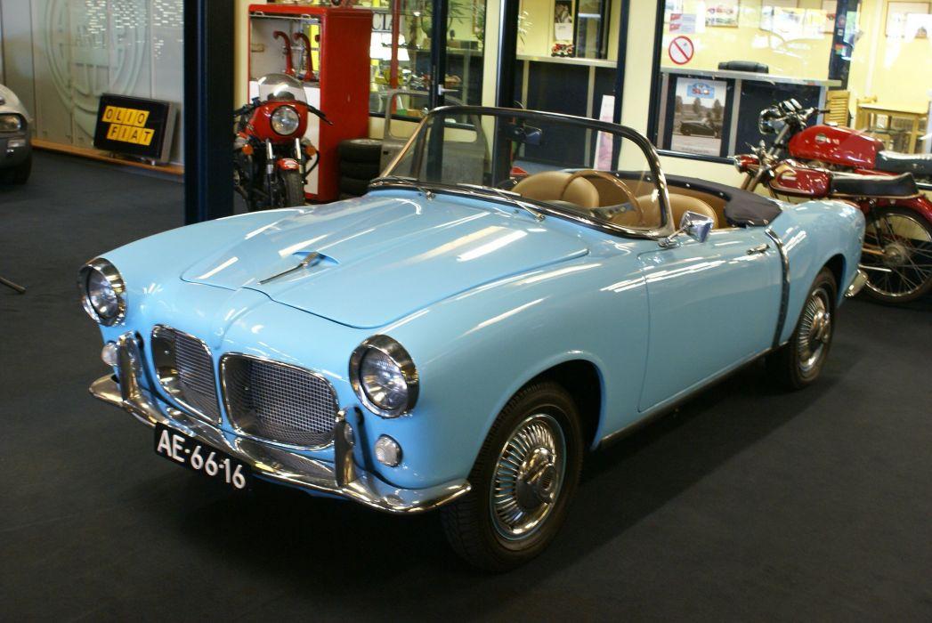 1200 cars classic Fiat Italia italie spider convertible wallpaper