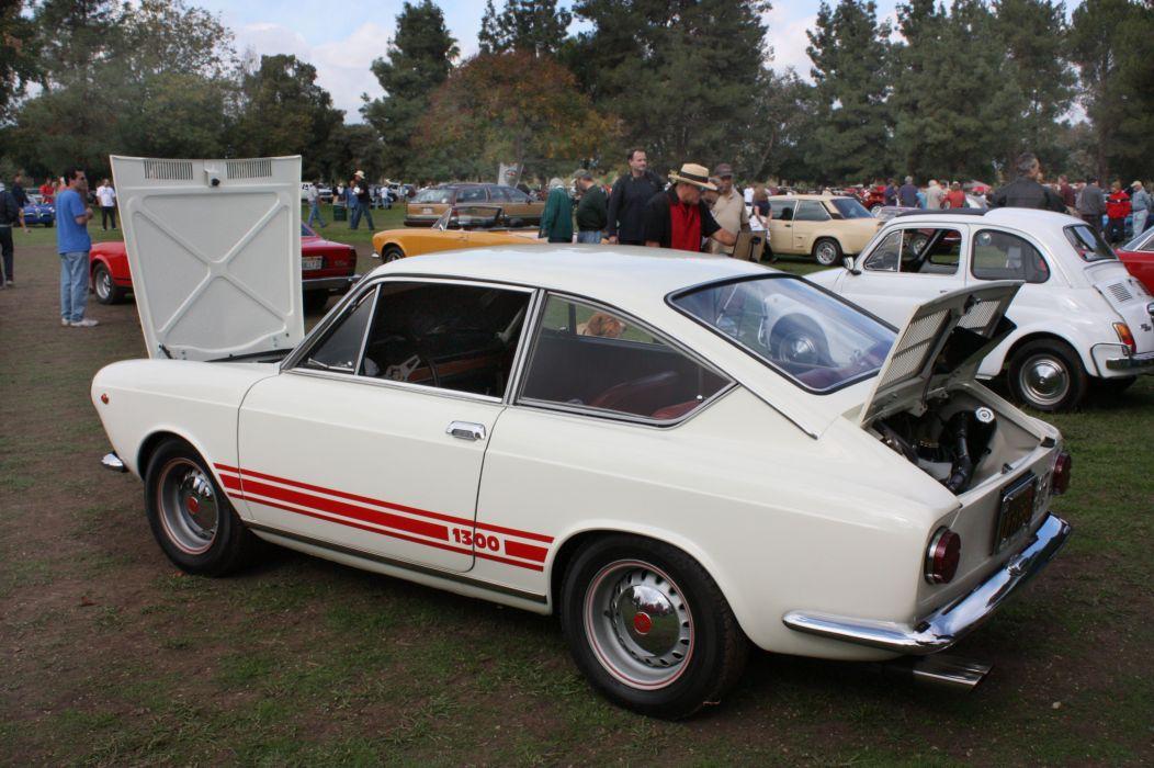 1300 cars classic Fiat Italia italie abarth coupe wallpaper