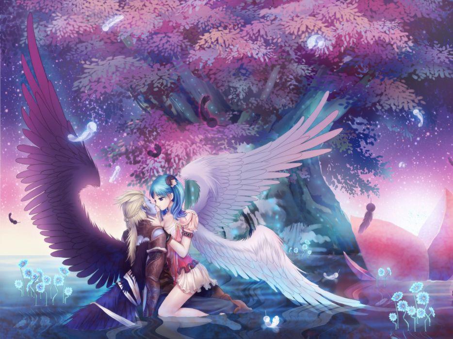 ANIME - Aion beautiful scene fantasy wallpaper