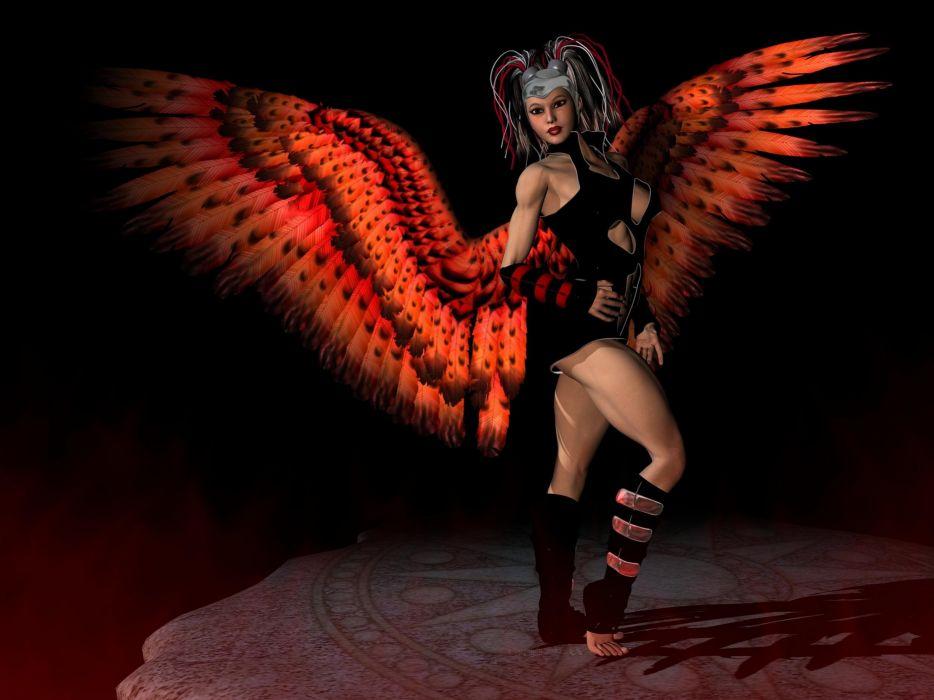 ART - dark angel wallpaper