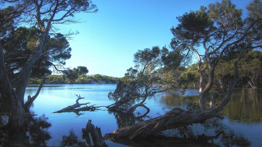 kangaroo-island-hot-island-nature-scene wallpaper
