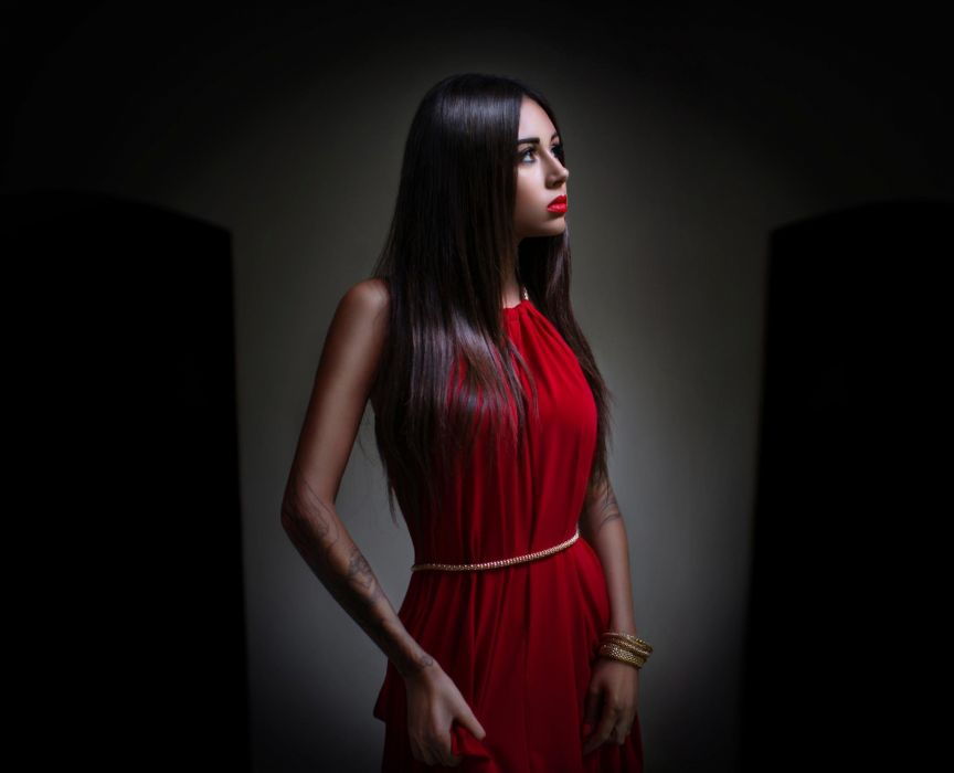 Girls Beautyful Girls Beautiful Diana Melison red dress wallpaper