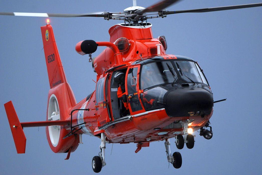 aerospatiale-hh-65-dolphin-ailes-ciel-bleu-equipe-de-secour-helicoptere-rouge-san-francisco-united-states-coast-guard 2400x1607 wallpaper