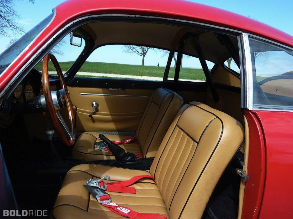 Fiat Abarth 750 Zagato cars classic coupe wallpaper