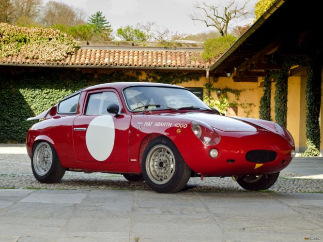 Fiat Abarth 1000 Gt classic cars racecars italia coupe wallpaper
