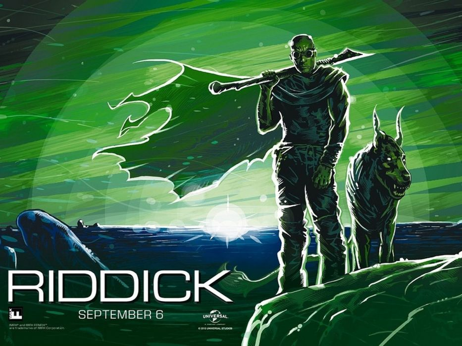 RIDDICK action thriller sci-fi science futuristic warrior chronriddick science fiction diesel chronicles wallpaper