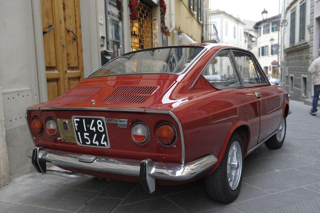 Fiat 850 Sport Coupe classic cars italia wallpaper
