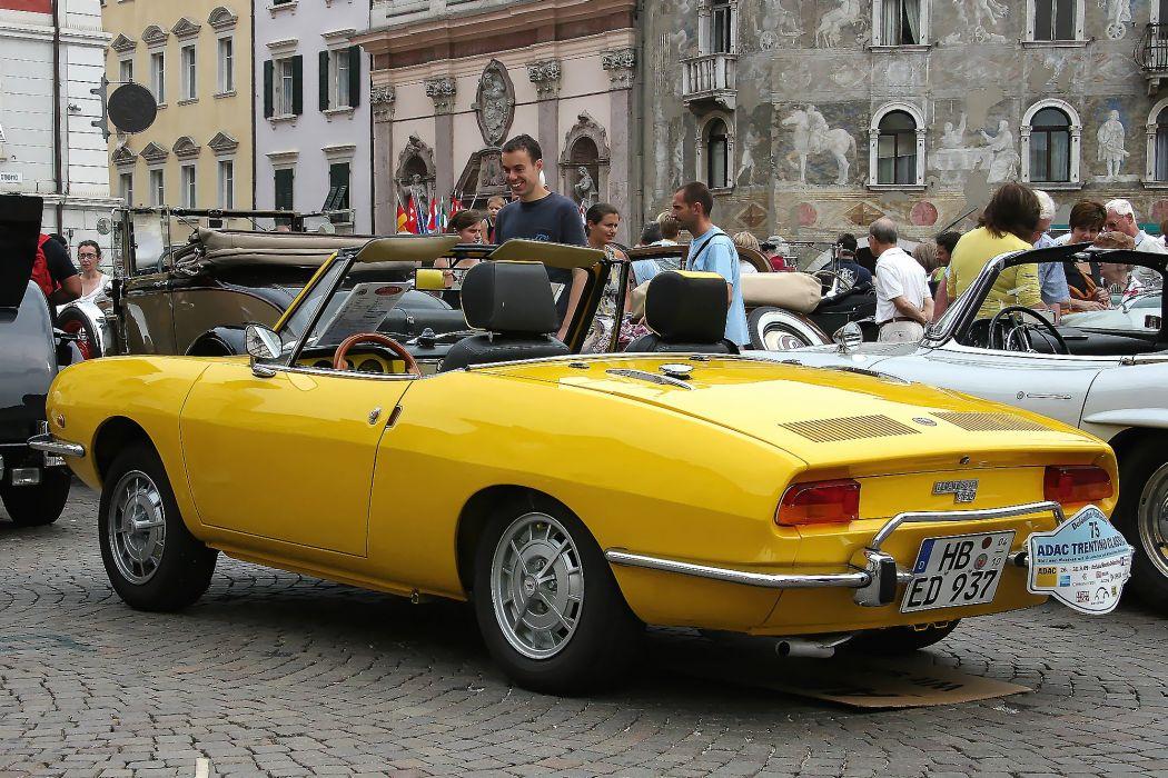Fiat 850 Sport Spider cars cabriolet convertible classic italia wallpaper