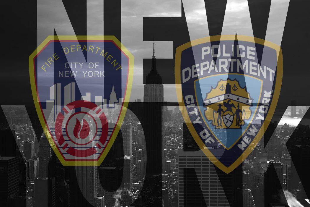 NEW YORK NYPD FDNY wallpaper