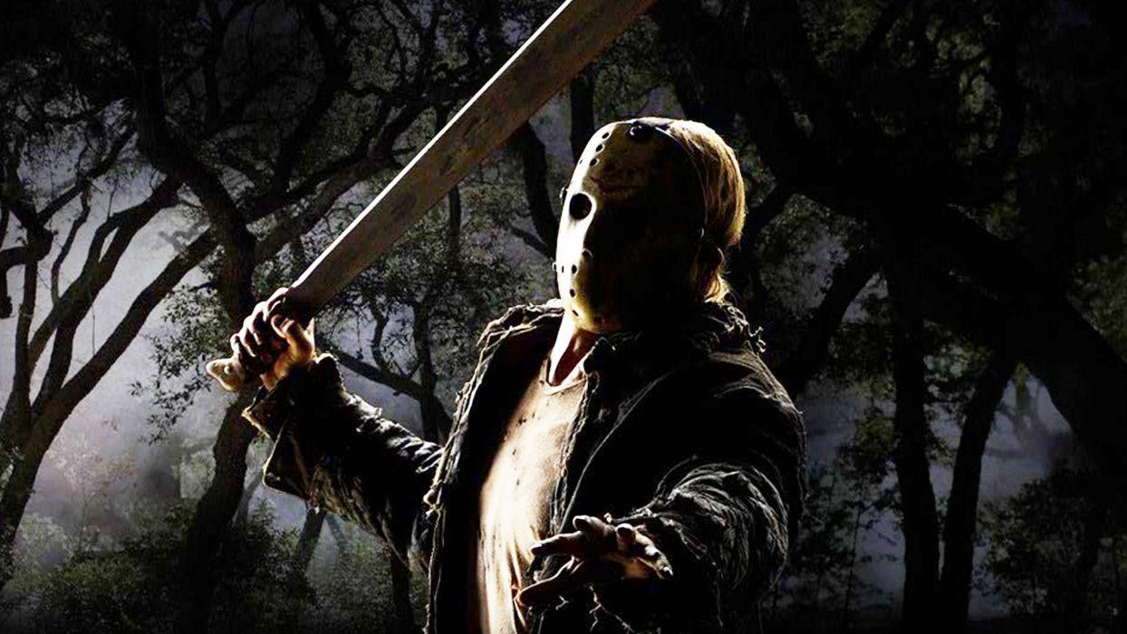 Friday 13th Dark Horror Violence Killer Jason Thriller Fridayhorror Halloween Mask Wallpaper 1920x1080 604273 Wallpaperup