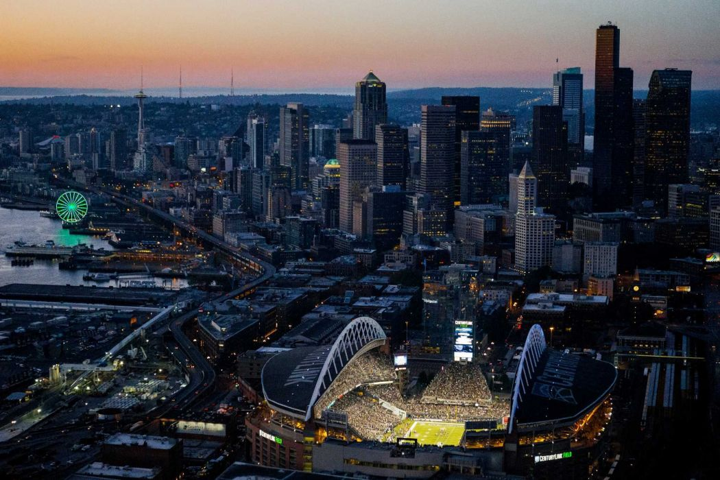 SEATTLE SEAHAWKS nfl football city cities stadium wallpaper