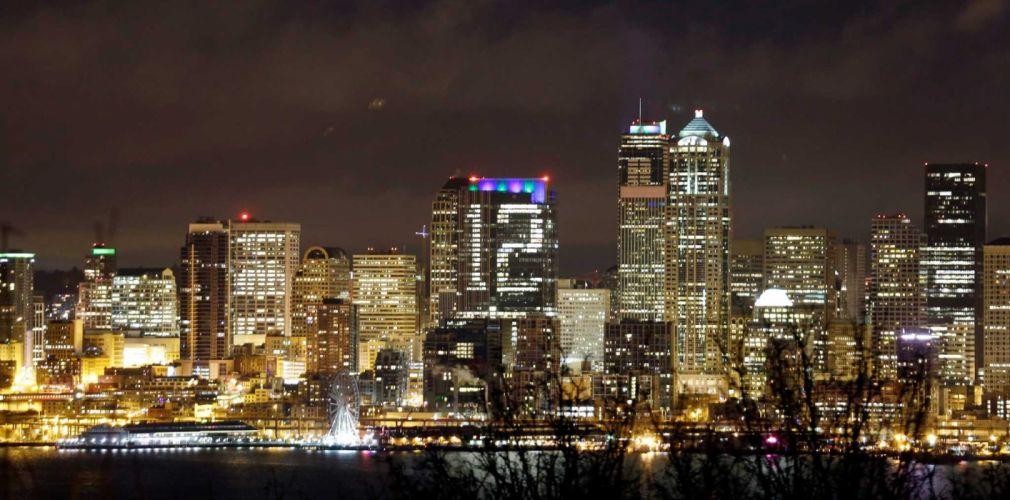 SEATTLE SEAHAWKS nfl football city cities skyline wallpaper