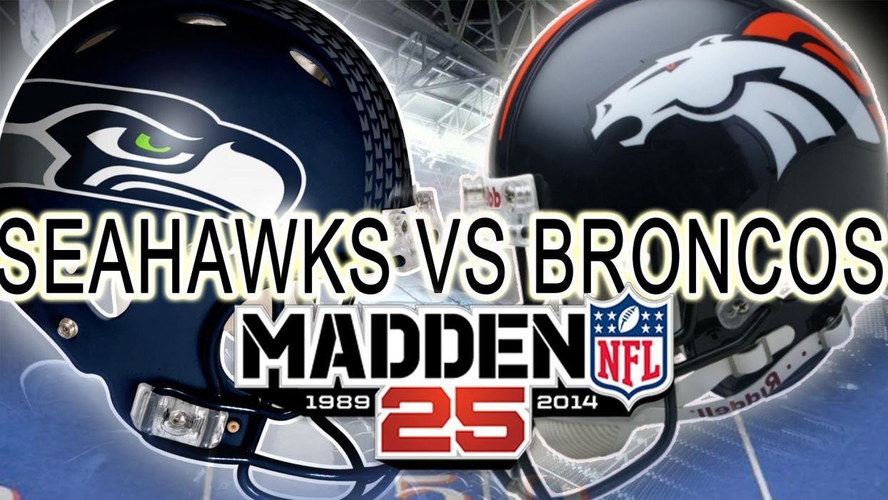 MADDEN football nfl action sports strategy seattle seahawwks denver broncos wallpaper