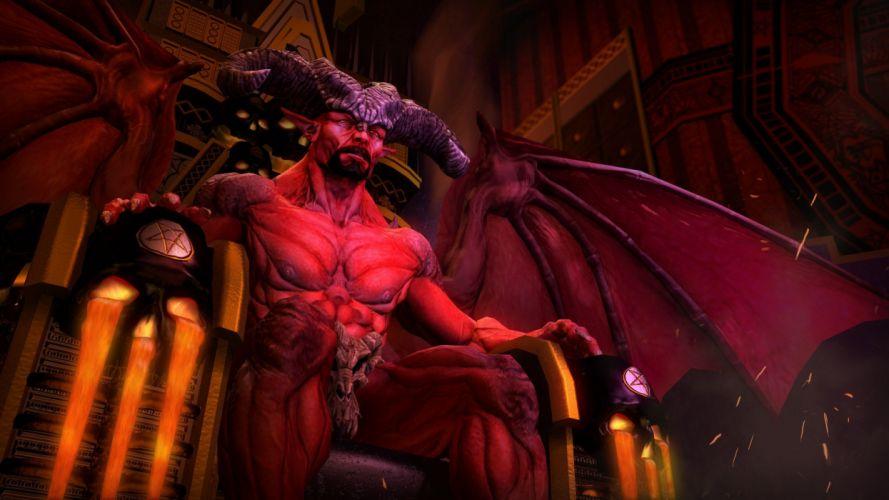 dark horror evil occult satan satanic creepy demon wallpaper