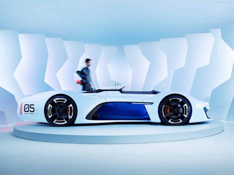 Renault Alpine Vision Gran Turismo Concept Cars 2015 Wallpaper