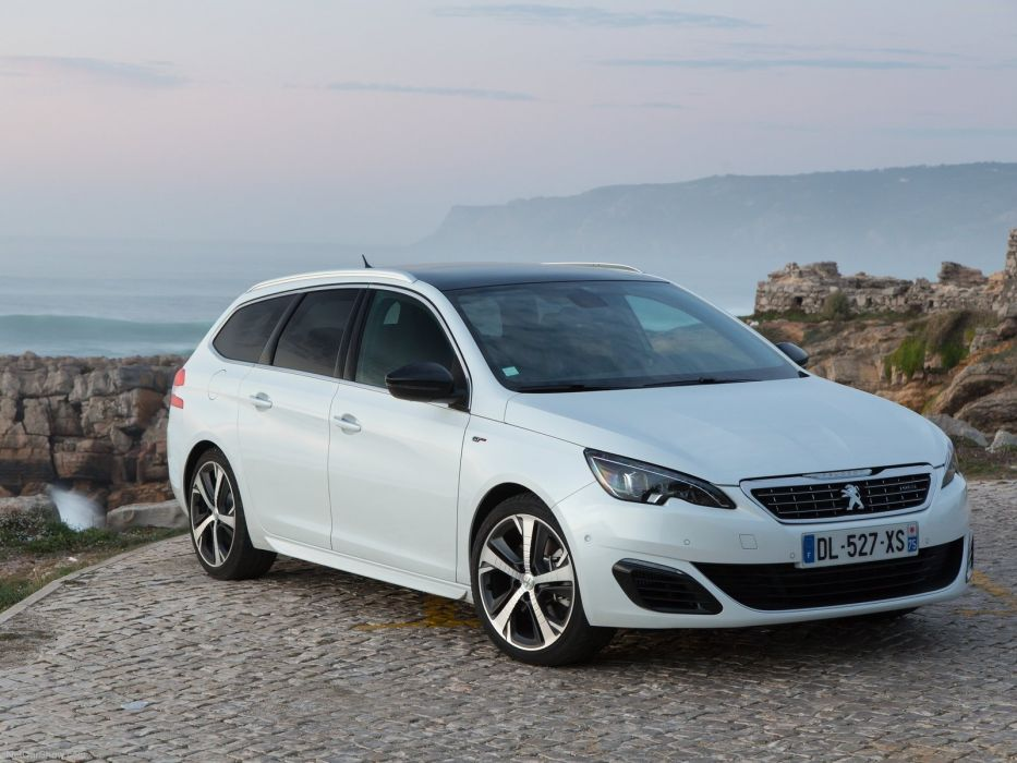 Peugeot 308 SW GT 2015 cars french wagon wallpaper