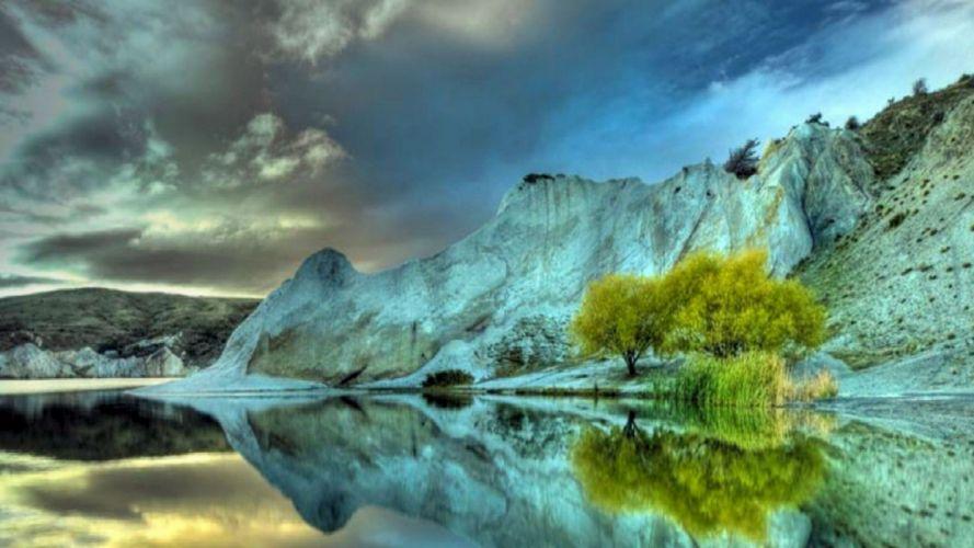 paisajes-naturaleza-lago-montaA wallpaper