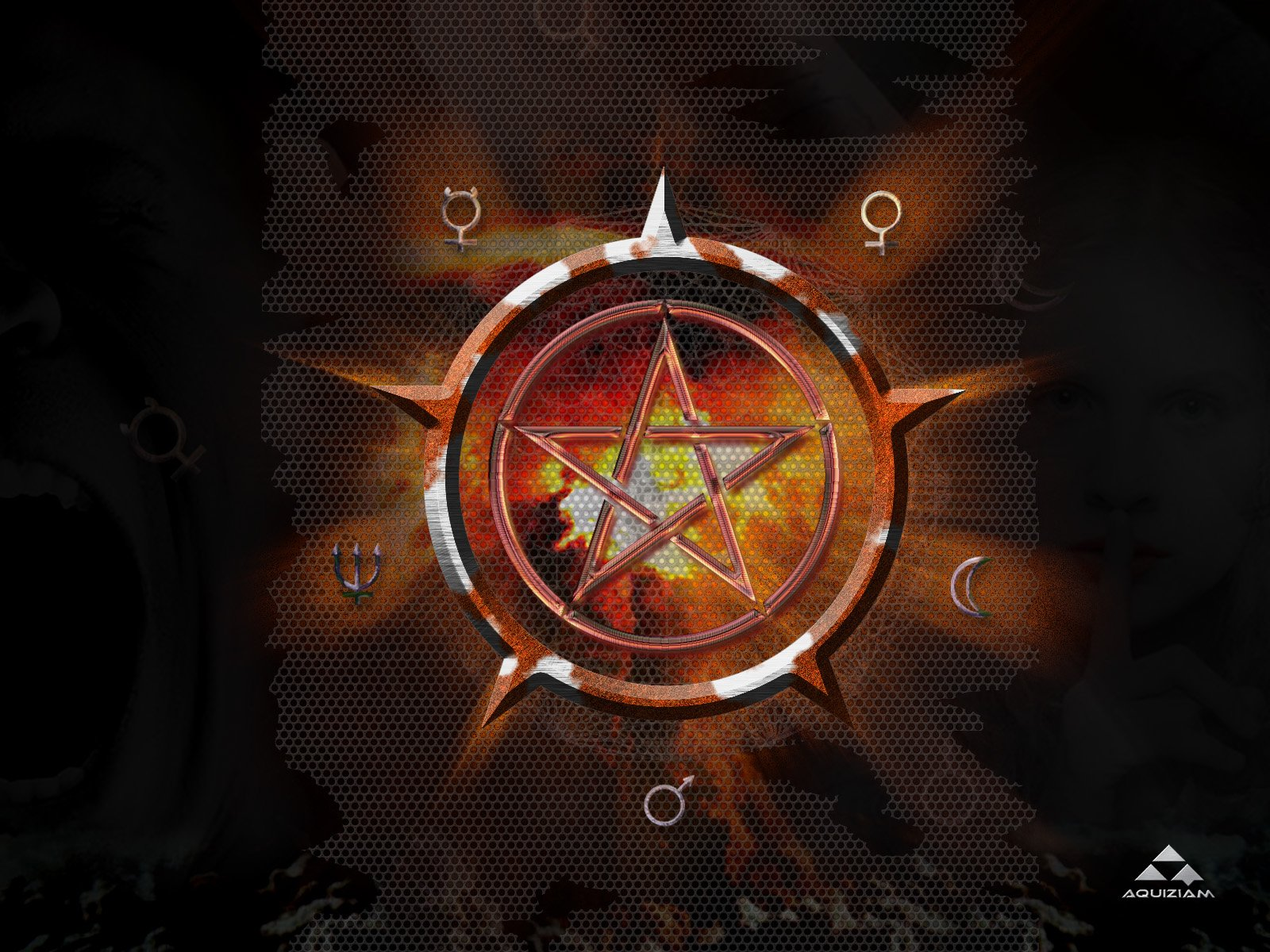 WICCA wiccan witch dark occult fantasy religion wallpaper ...