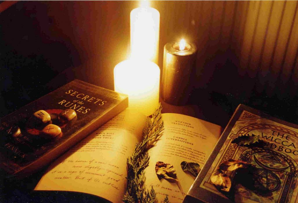 WICCA wiccan witch dark occult fantasy religion fire candle wallpaper