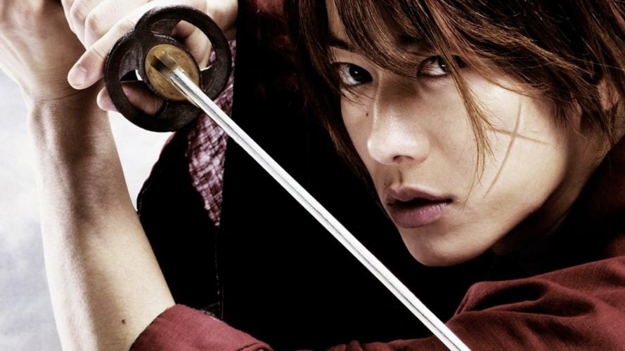 Rurouni Kenshin warrior fantasy anime warrior japanese samurai action fighting wallpaper