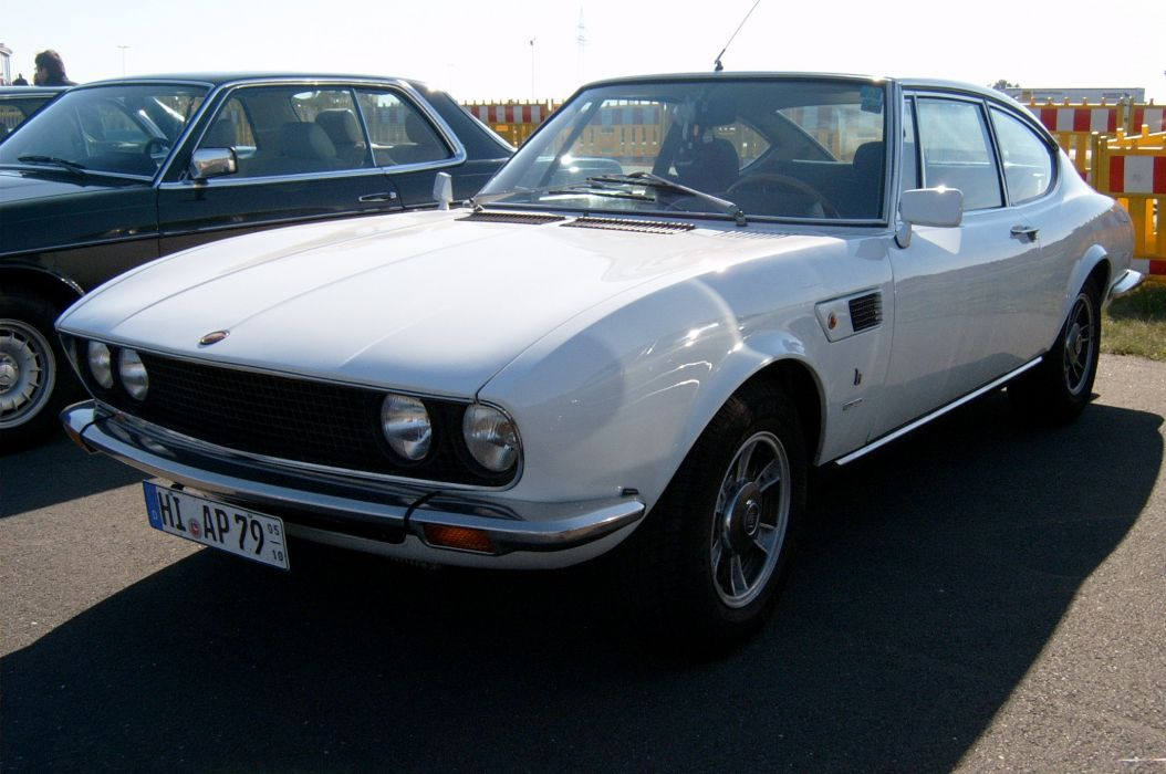 Fiat Dino Coupe 2400 classic cars italia wallpaper