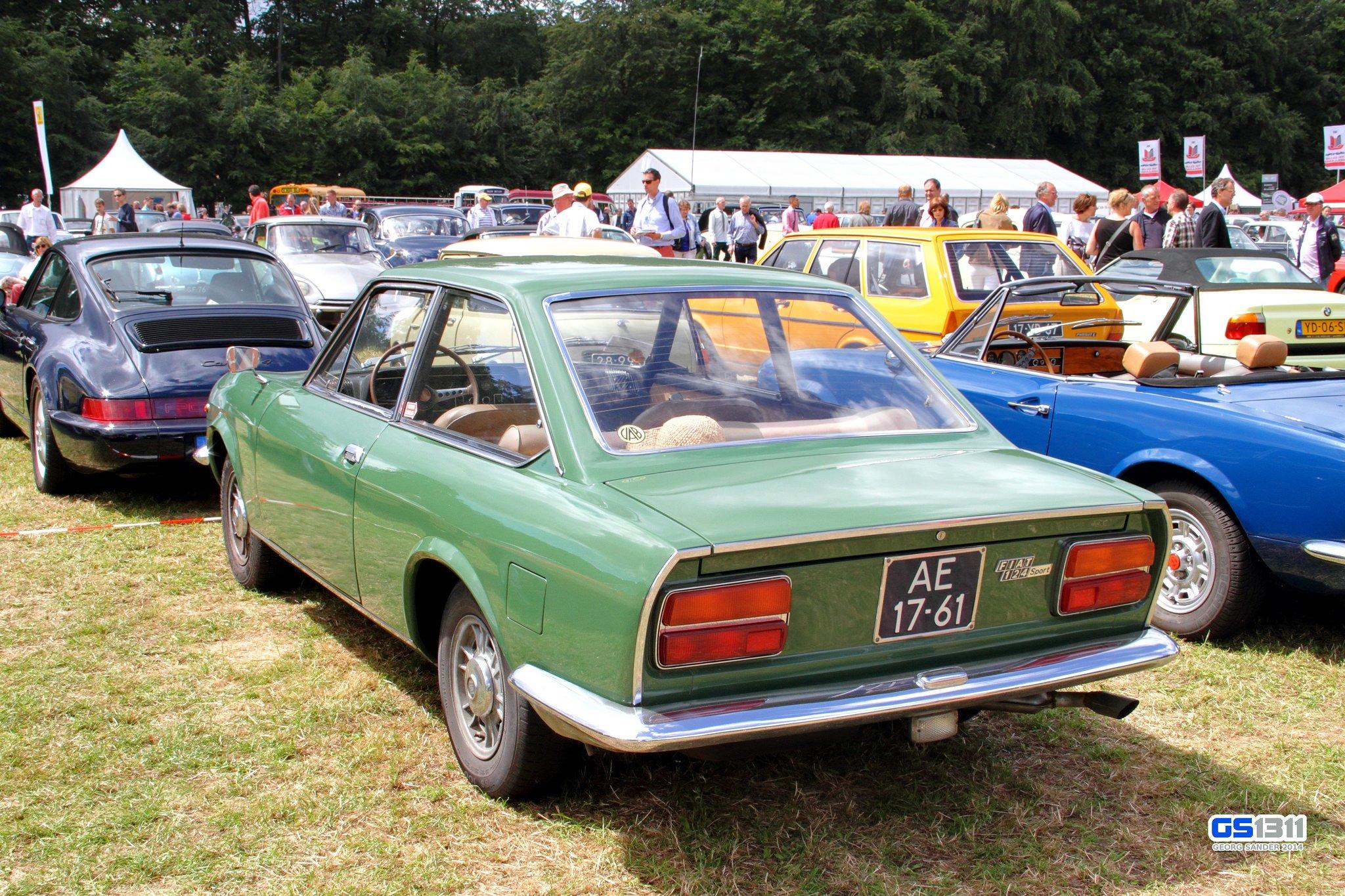 fiat 124 sport coupe mk1 classic cars italia wallpaper