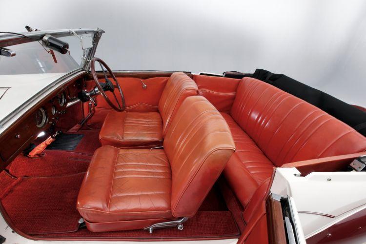 1936 Delage D6-70 Milord Cabriolet Figoni et Falaschi luxury retro vintage wallpaper
